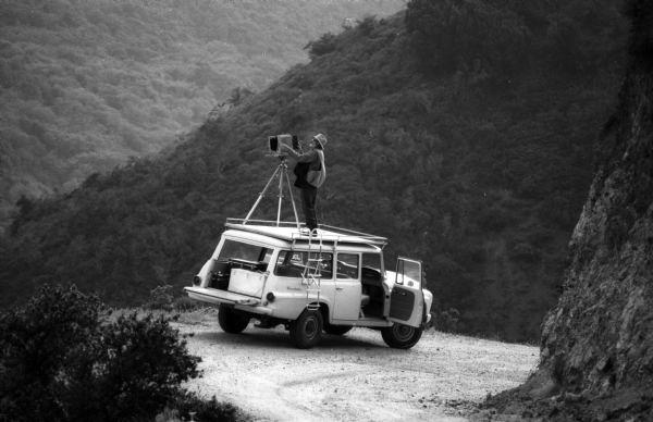 Ansel Adams fotí krajinu