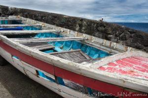 Azorské ostrovy - loďka