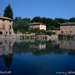 Bagno Vignoni, náměstí