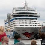 Cruiser Hamburk přístav