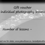 Gift voucher photography lessons