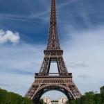 Eiffelovka ve dne