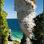 Flowerpot Island skalní útvar