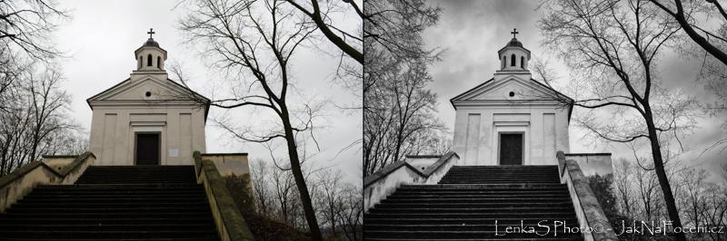 Jak fotit venku - Černobílá fotografie