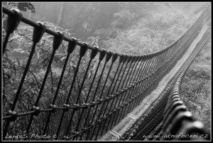 Lanový most v parku Taipingshan