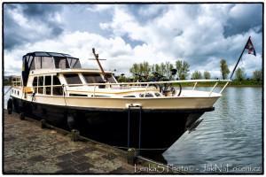 Loďka v Holandsku