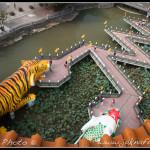 Jezero Lotosů a barevné chrámy