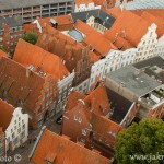 Lübeck z věže