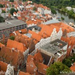 Lübeck z výšky
