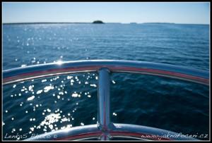 Na lodi na jezeře Huron
