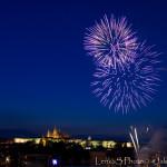 Ohňostroj na Vltavě