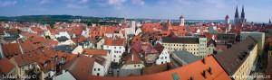 Panorama Regensburgu