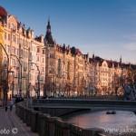 Praha nábřeží