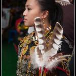 Tchaj-wan - Původní obyvatelé na slavnosti