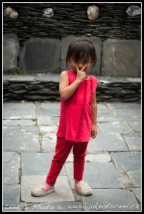 Místní holčička