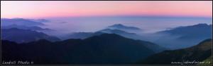 Taiwan - panorama z hory Hehuan