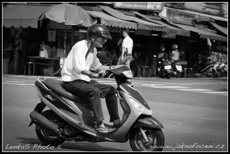 Taiwanský jezdec