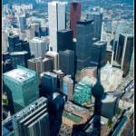 Toronto z výšky CN Tower
