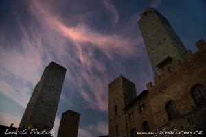 Městečko San Gimignano