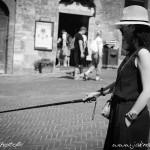 Turistka-San Gimignano