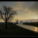 Východ slunce nad Pitínem