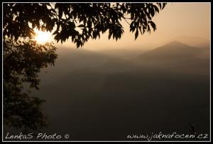 Východ slunce v Alishanu II