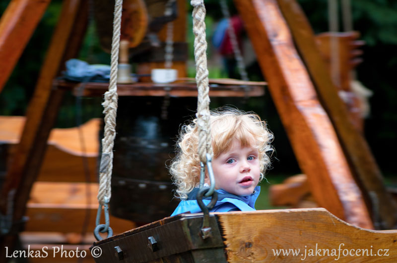Jak fotit pohyb děti