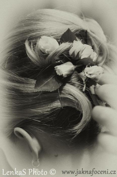 Svatební fotografie - úprava fotek