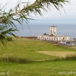 Azorské ostrovy Faial maják