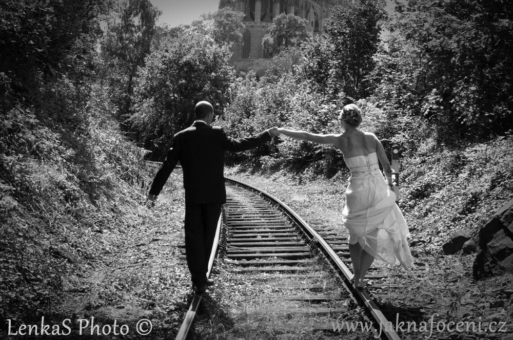 Focení svatby - stylizace