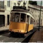 Lisabon tramvaj číslo 28
