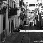 Lisabon ulička
