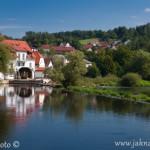 Vodni mlýn v městečku Kallmunz