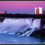 Niagara v noci