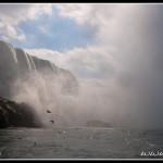 Niagara z lodi Maid of the Mist