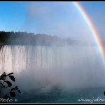 Niagarské vodopády duha