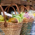 Ovocné koše Fischmarkt Hamburk