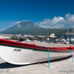 Pico a přístav Lajes