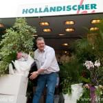 Prodejce květin fischmarkt Hamburk