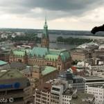 Radnice z věže Hamburk