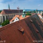 Regensburg z vyhlídkové věže