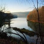 Večerní zákoutí bojkovské přehrady