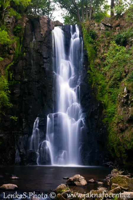 Jak fotit pohyb voda rozmazaná