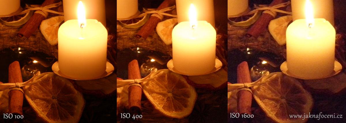 Noční fotografie a nastavení ISO